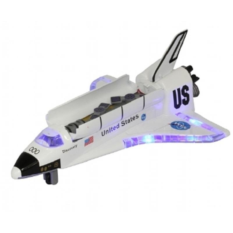 Speelgoed raket met licht en geluid 19 cm