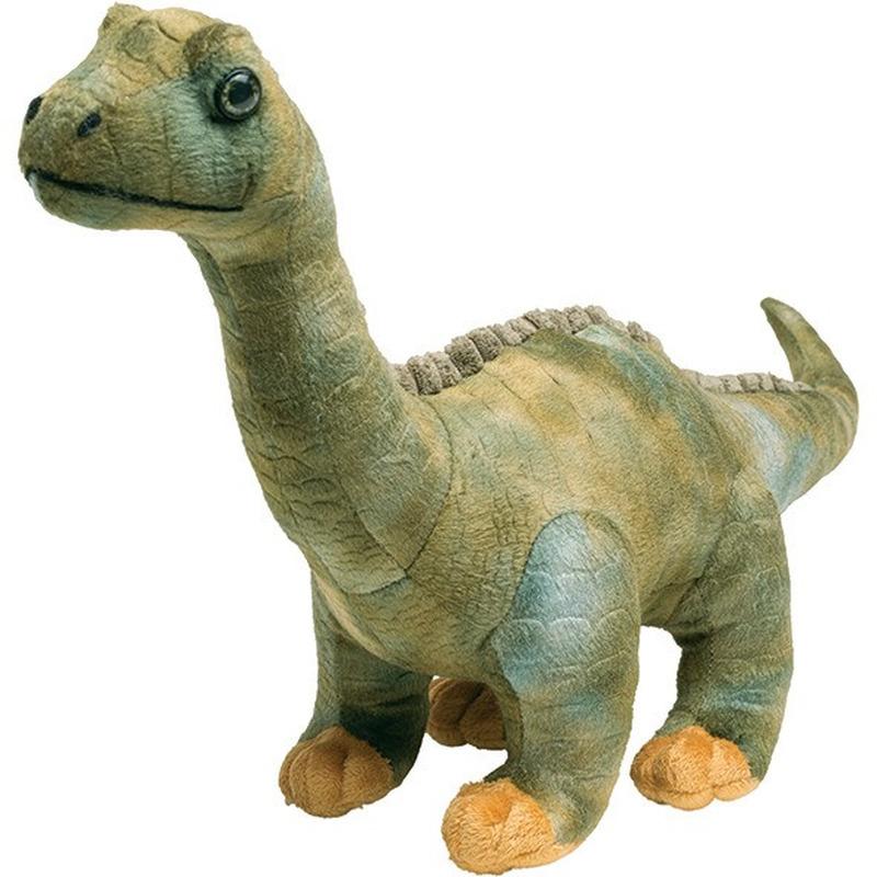 Zachte dinosaurus diplodocus dieren knuffels 50 cm