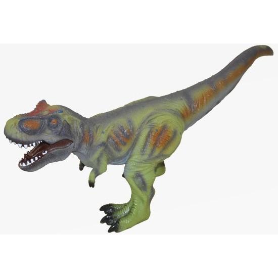 Grote groene plastic t rex dinosaurus 63 cm speelgoed
