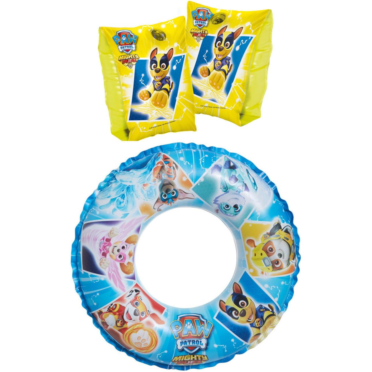 Paw patrol zwembad speelgoed set zwemband en gele zwemmouwtjes 3 6 jaar