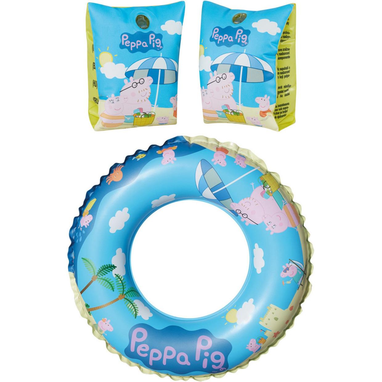 Peppa pig zwembad speelgoed set zwemband en zwemmouwtjes 3 6 jaar
