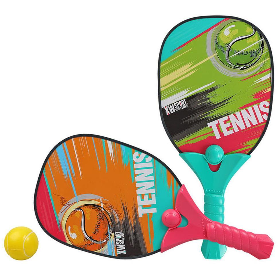 Actief speelgoed tennis beachball pickleball setje met print