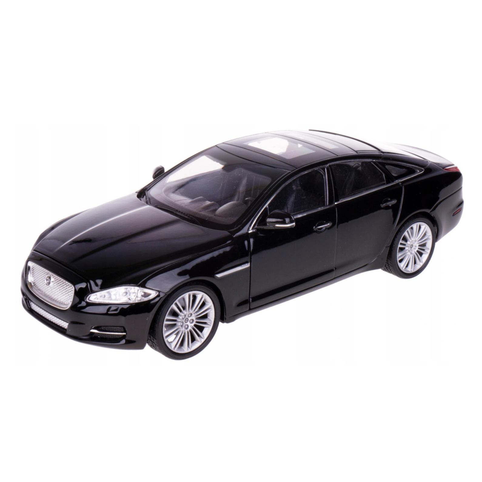 Speelgoedauto jaguar xj zwart 1 24 21 x 8 x 6 cm