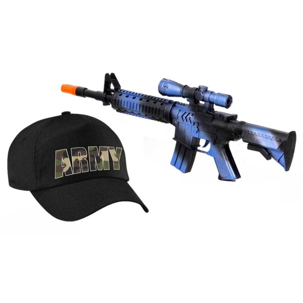 2 delig speelgoed verkleedaccessoires set leger soldaten voor kinderen 10290121