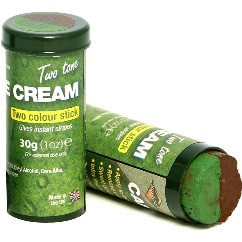 2x bruine groene schminkstift speelgoed voor kinderen volwassenen