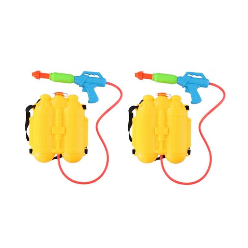 2x speelgoed waterpistolen met watertank 10214961