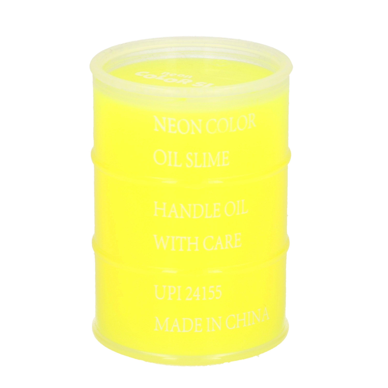 5x potje speelslijm geel 150 ml inhoud