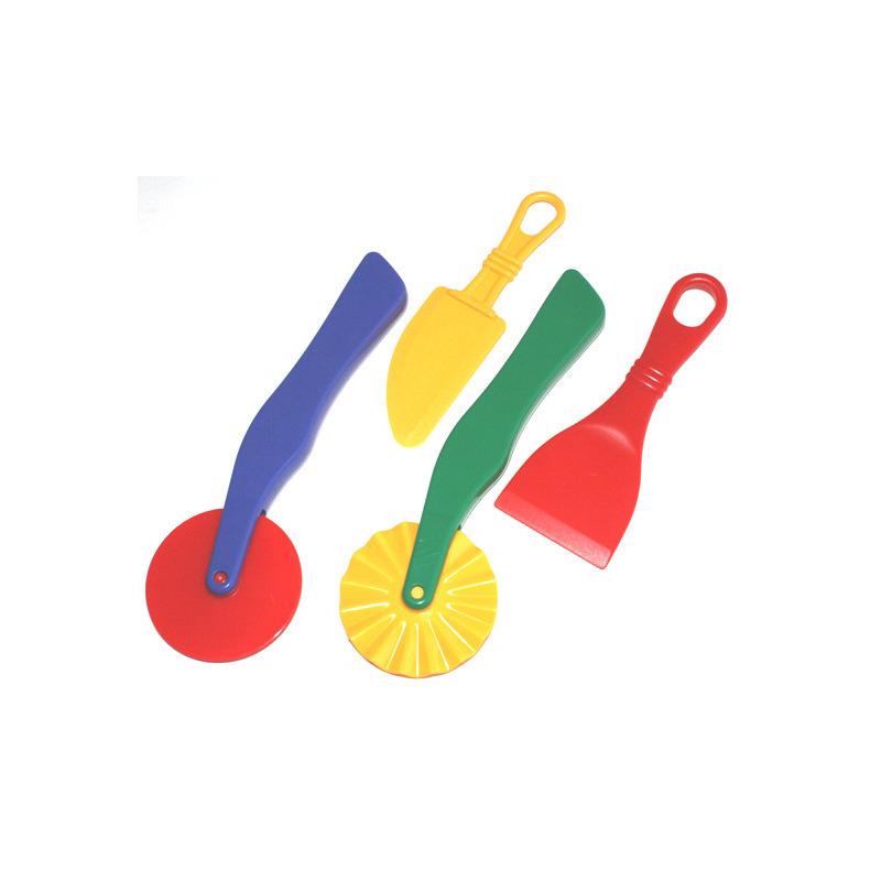 Klei accessoires modelleer set 4 delig creatief speelgoed voor kinderen