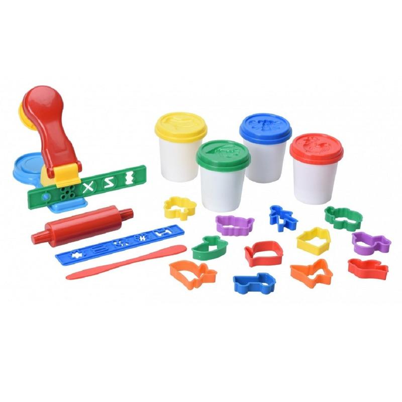 Kleiset met vormpjes en pers creatief speelgoed voor kinderen