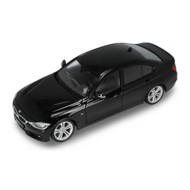 Speelgoedauto bmw 335i zwart 1 24 19 x 7 x 6 cm