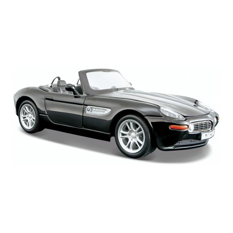 Speelgoedauto bmw z8 zwart 1 24 18 x 7 x 5 cm