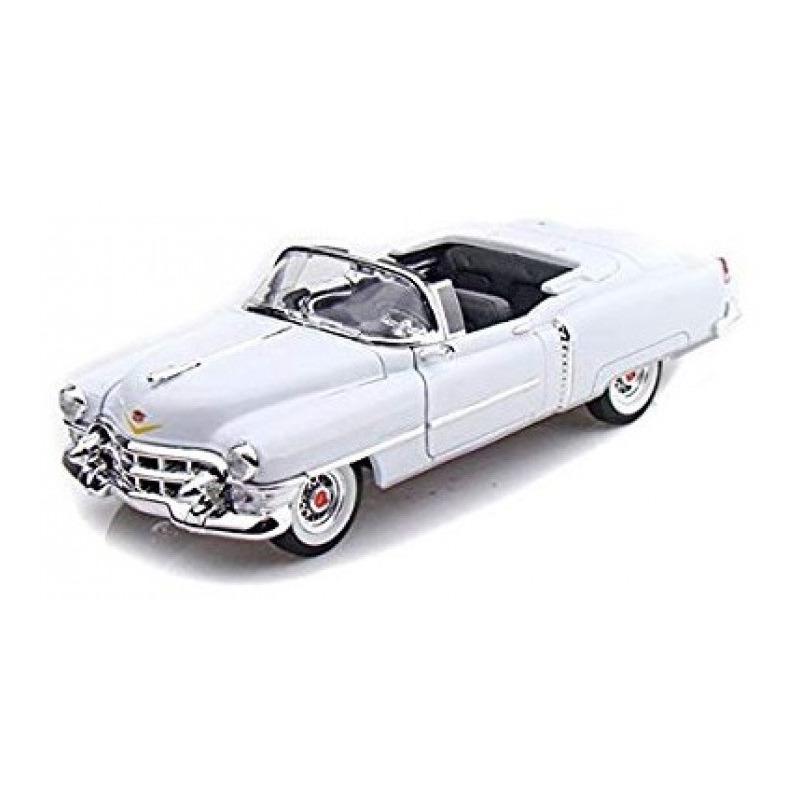 Speelgoedauto cadillac eldorado 1953 wit 1 24 23 x 8 x 6 cm