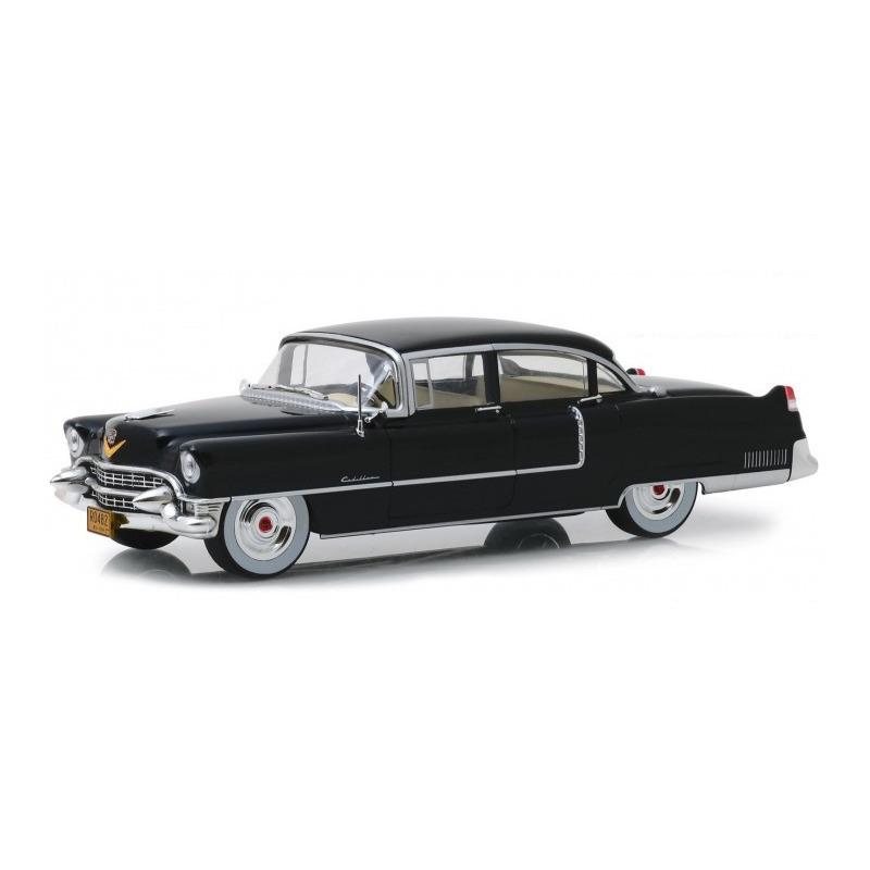 Speelgoedauto cadillac fleetwood 60 special the godfather 1955 zwart 1 24 24 x 8 x 6 cm
