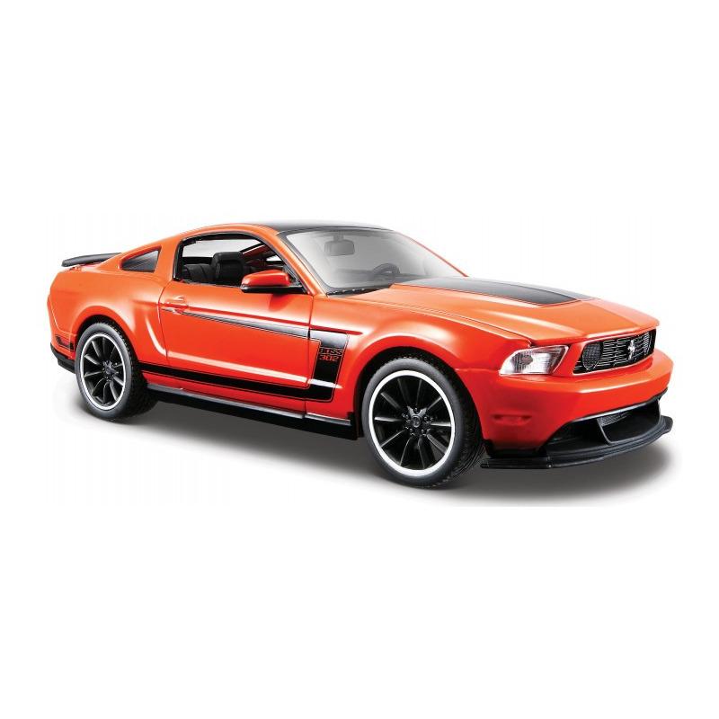 Speelgoedauto ford mustang boss 302 2012 oranje 1 24 20 x 8 x 6 cm