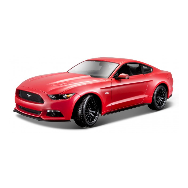 Speelgoedauto ford mustang gt 2015 rood 1 18 26 x 10 x 7 cm