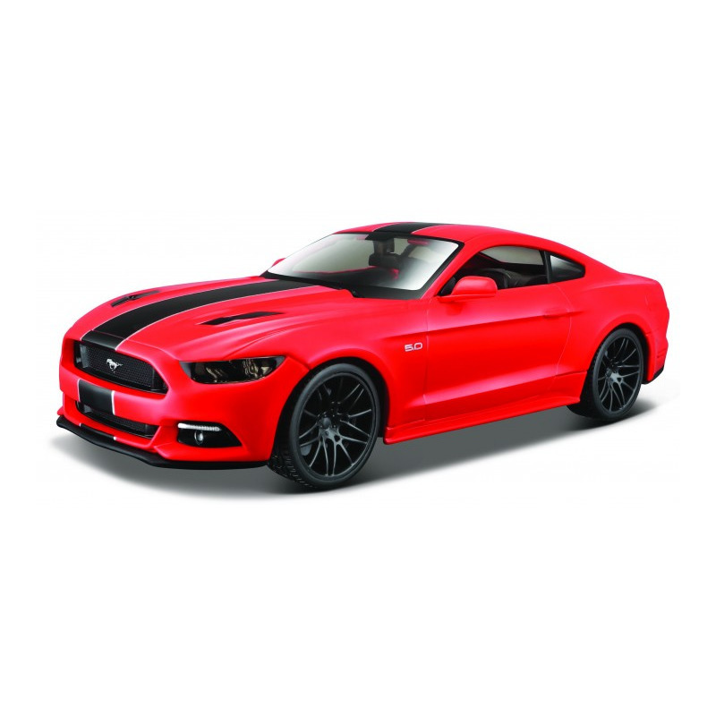 Speelgoedauto ford mustang gt 2015 rood 1 24 20 x 8 x 5 cm