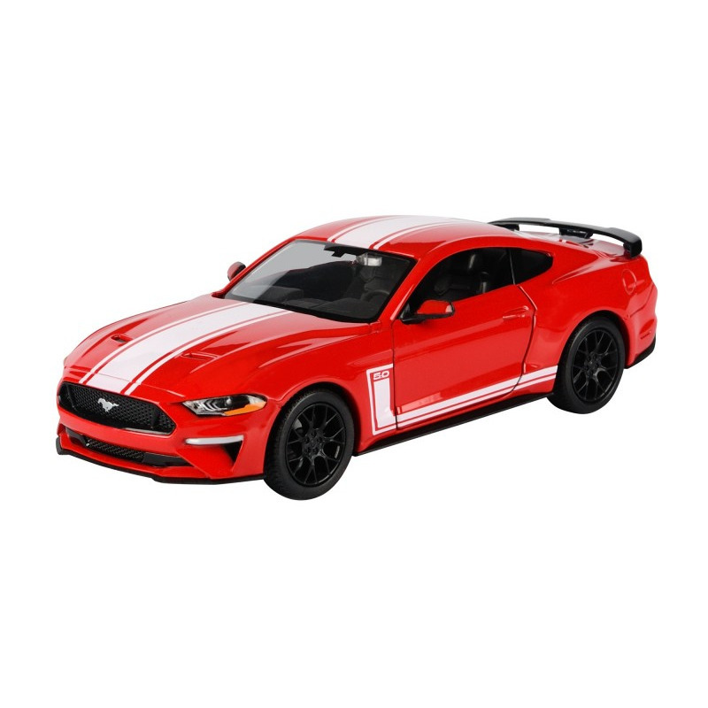 Speelgoedauto ford mustang gt 2018 rood 1 24 20 x 8 x 5 cm