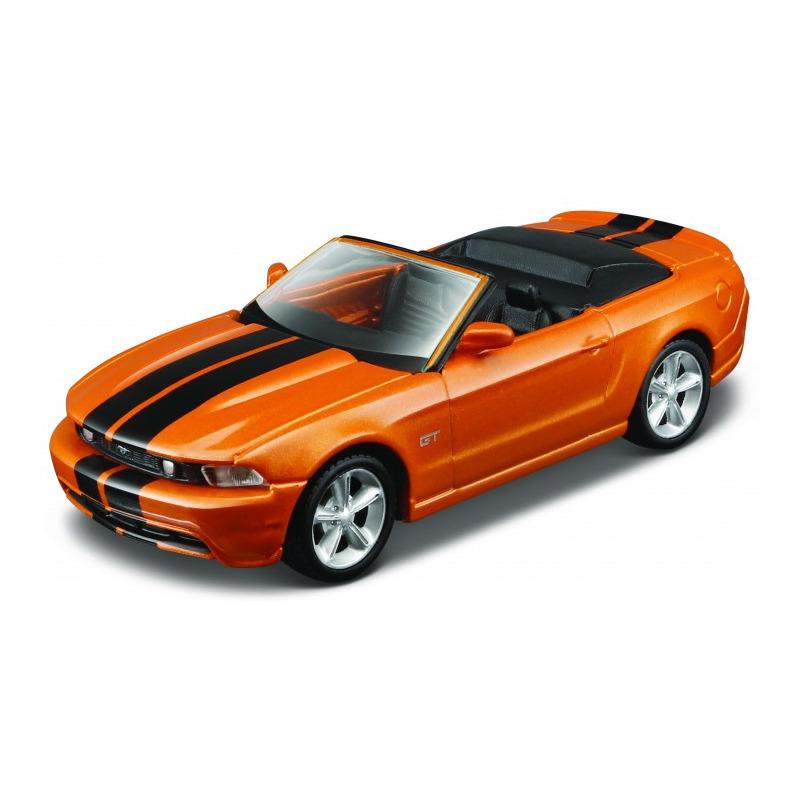 Speelgoedauto ford mustang gt convertible 2010 oranje 1 32 14 x 6 x 4 cm