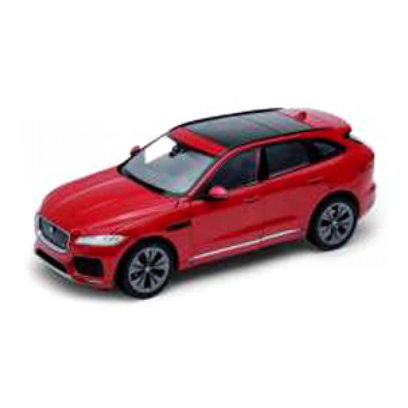 Speelgoedauto jaguar f pace rood 1 24 20 x 8 x 7 cm