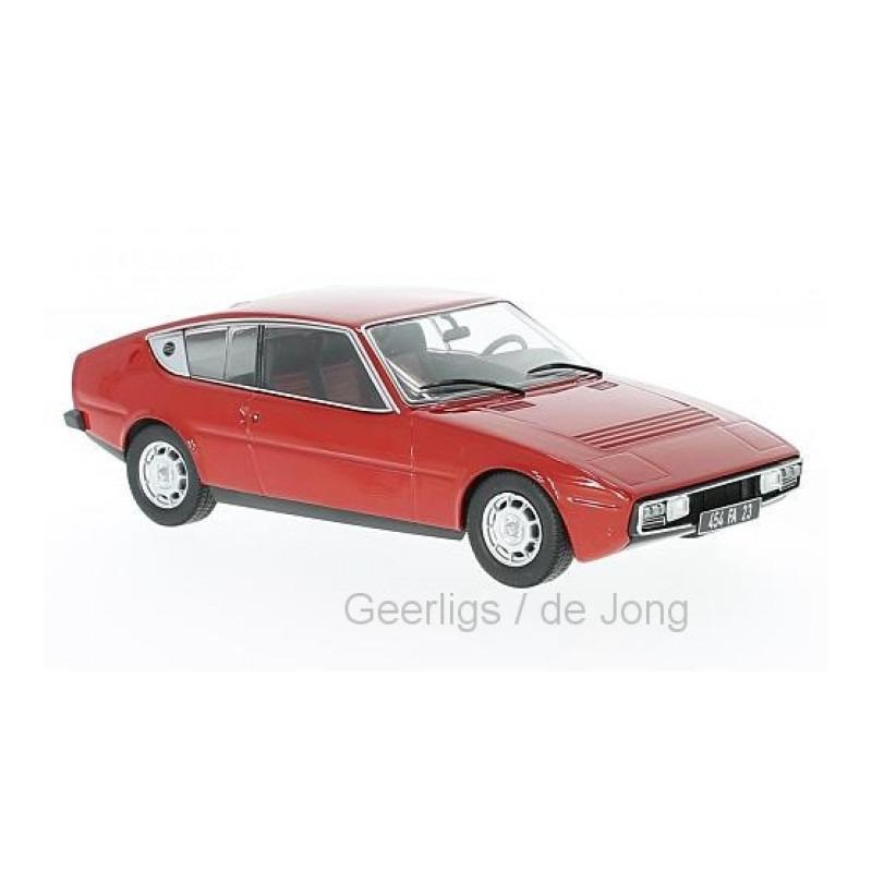 Speelgoedauto matra simca bagheera 1974 rood 1 24 16 x 7 x 7 cm
