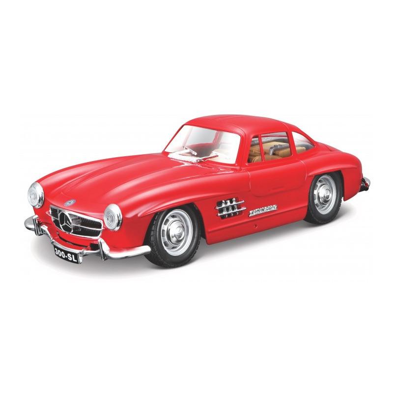 Speelgoedauto mercedes benz 300sl 1954 rood 1 24 19 x 7 x 5 cm
