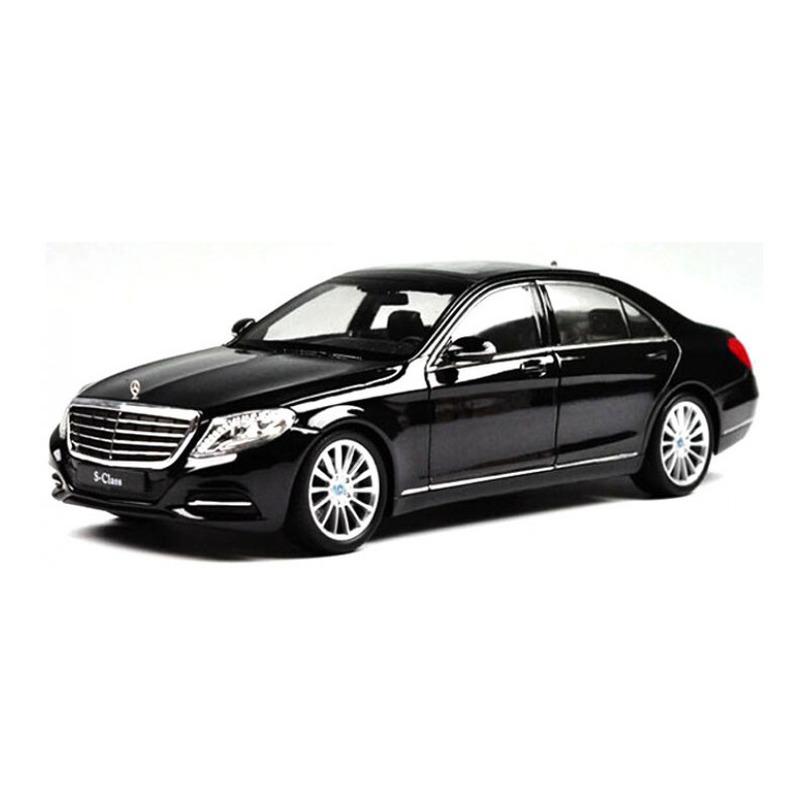 Speelgoedauto mercedes benz s klasse zwart 1 24 21 x 8 x 6 cm