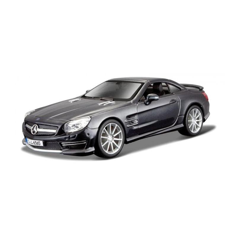 Speelgoedauto mercedes benz sl65 amg zwart 1 24 19 x 8 x 5 cm