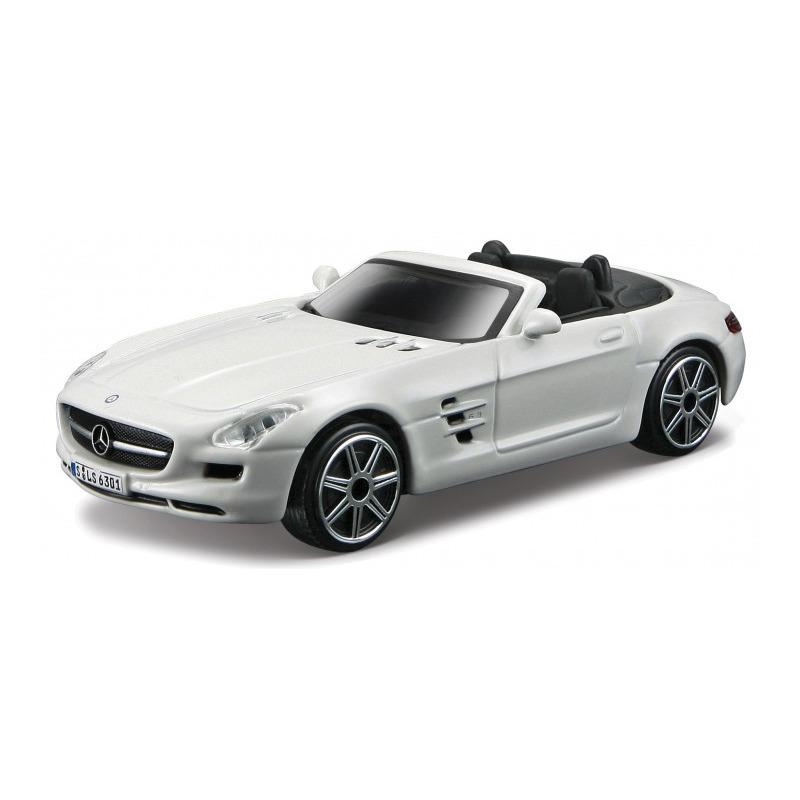 Speelgoedauto mercedes benz sls amg wit 1 43 11 x 4 x 3 cm