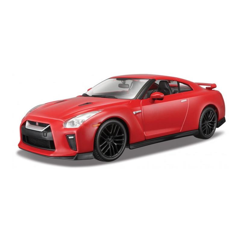 Speelgoedauto nissan gt r 2017 rood 1 24 19 x 8 x 6 cm