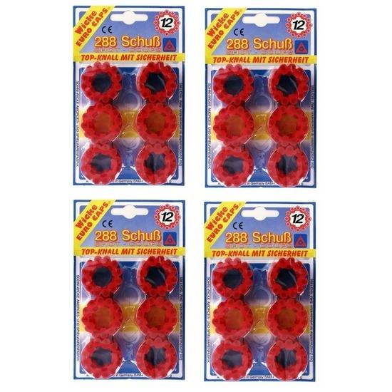 Speelgoed klappertjespistool kogels 12 schots 10158272