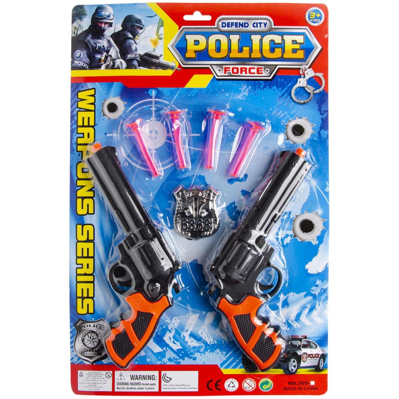 Speelgoed set politie thema 7 delig voor kinderen