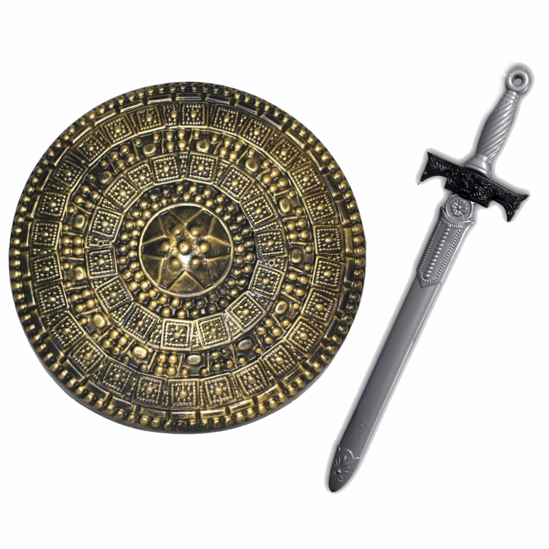 Ridders speelgoed wapens set schild met zwaard van 65 cm 10282511