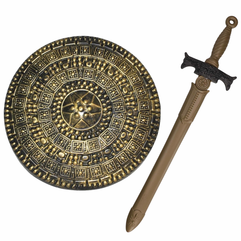 Ridders verkleed wapens set schild met zwaard van 65 cm 10282510