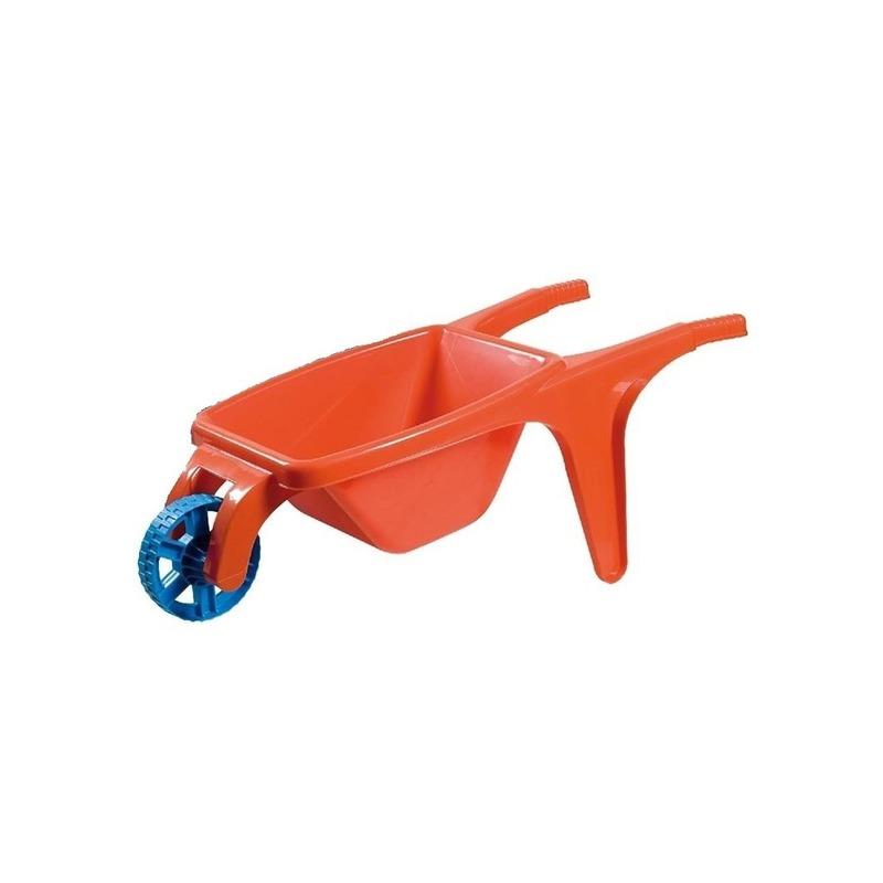 Speelgoed kruiwagen rood 70 cm