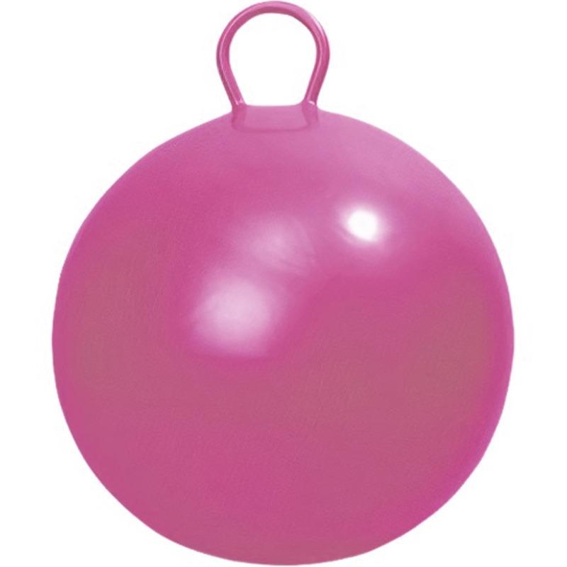 Roze skippybal 45 cm speelgoed voor peuters kleuters kinderen