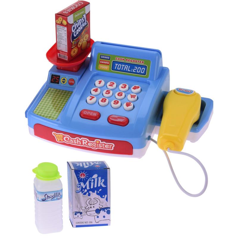 Speelgoed kassa met geluid voor jongens meisjes