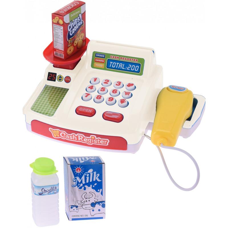 Speelgoed kassa met geluid voor jongens meisjes 10194549