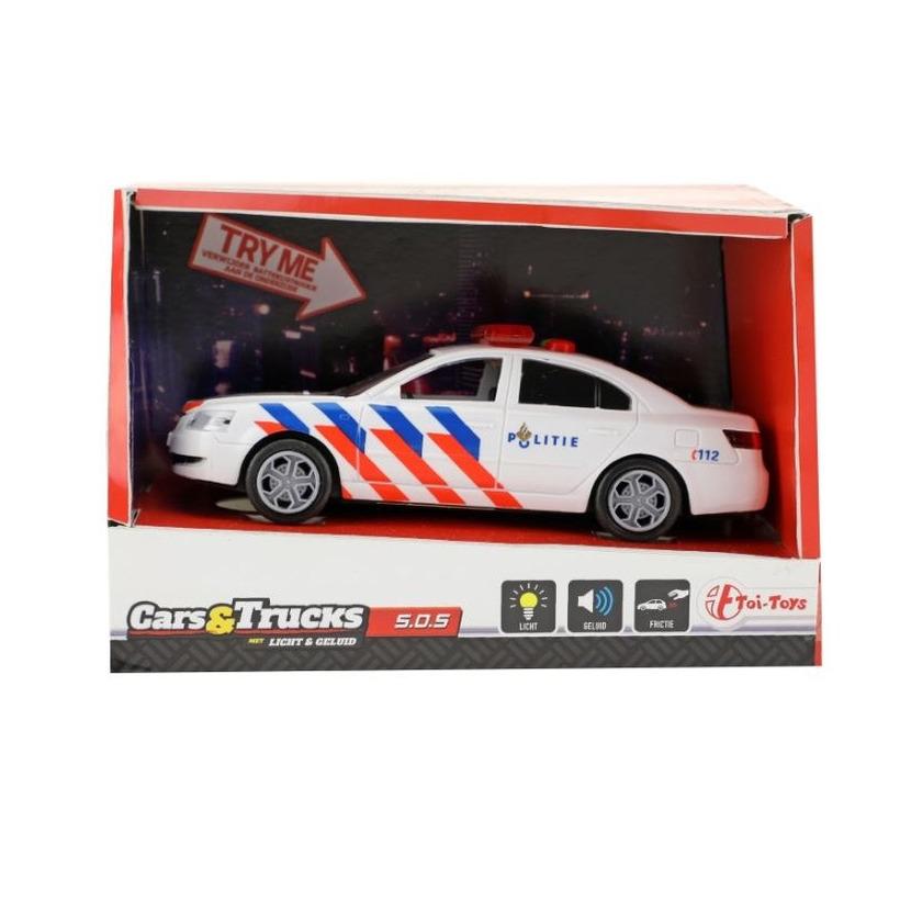 Speelgoed politieauto met licht en geluid 5 5 x 16 x 6 cm