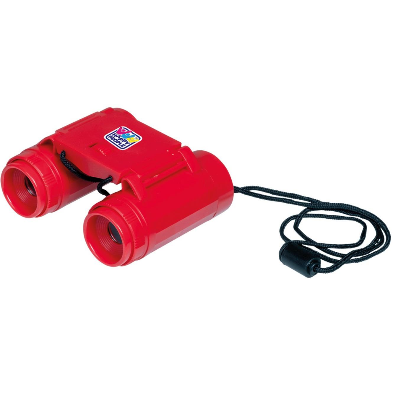Rode verrekijker speelgoed voor kinderen 9 5 cm