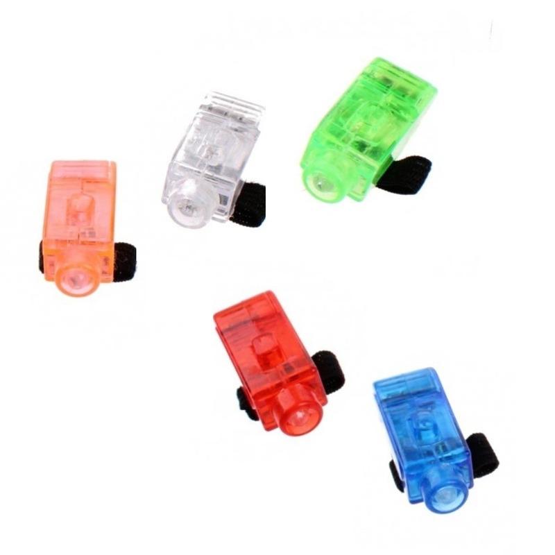 Led speelgoed vingerlampjes 5 stuks