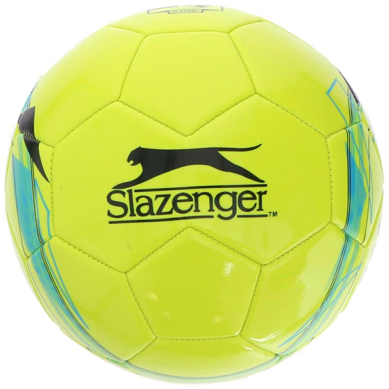 Buitenspeelgoed panna voetbal geel 21 cm maat 5 voor kinderen volwassenen
