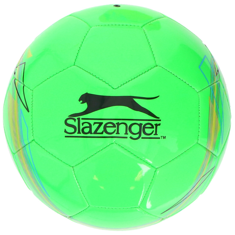 Buitenspeelgoed panna voetbal groen 21 cm maat 5 voor kinderen volwassenen