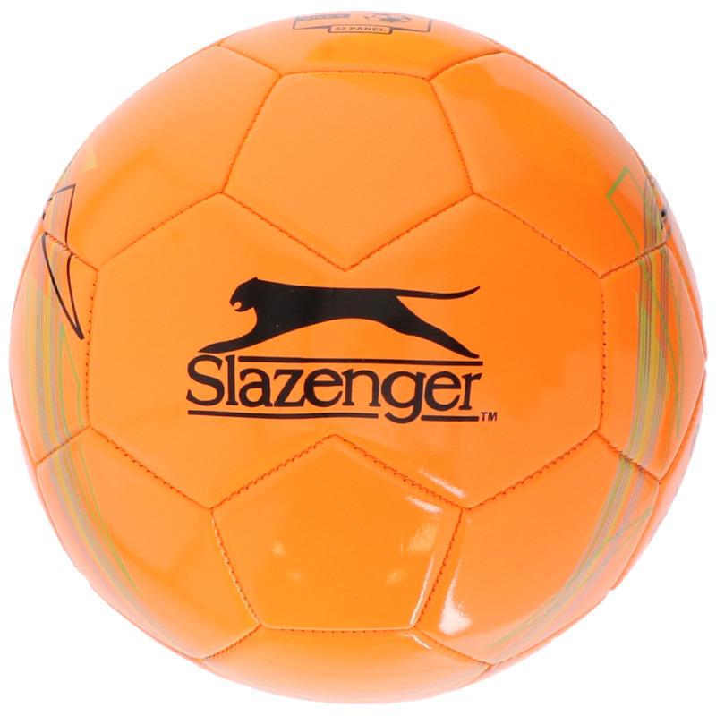 Buitenspeelgoed panna voetbal oranje 21 cm maat 5 voor kinderen volwassenen