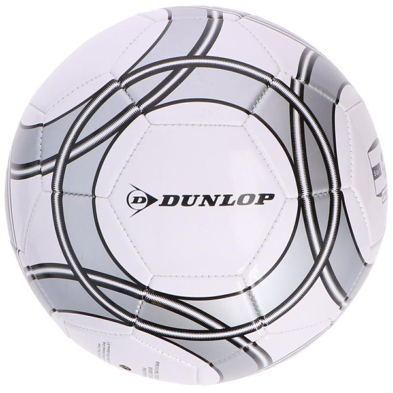 Buitenspeelgoed panna voetbal wit zwart grijs 21 cm maat 5 voor kinderen volwassenen 10194888