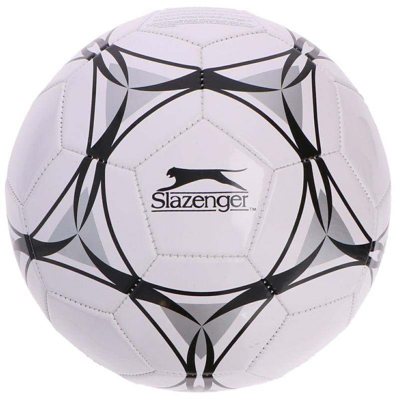 Buitenspeelgoed panna voetbal wit zwart grijs 21 cm maat 5 voor kinderen volwassenen