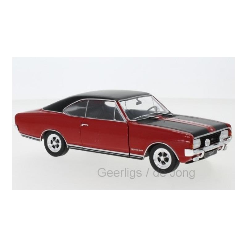 Speelgoedauto opel commodore a gs e 1970 rood 1 24 19 x 7 x 7 cm