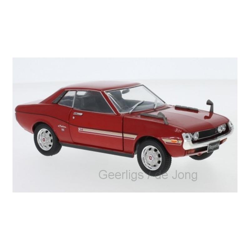 Speelgoedauto toyota celica 1973 rood 1 24 17 x 6 x 6 cm