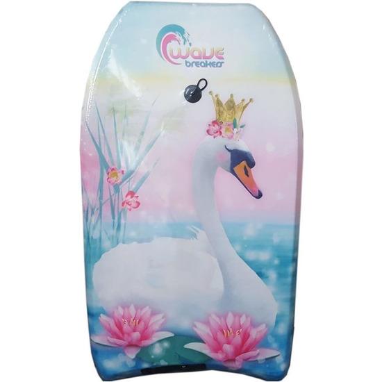 Zwanen speelgoed zwem bodyboard 83 cm voor jongens meisjes kinderen