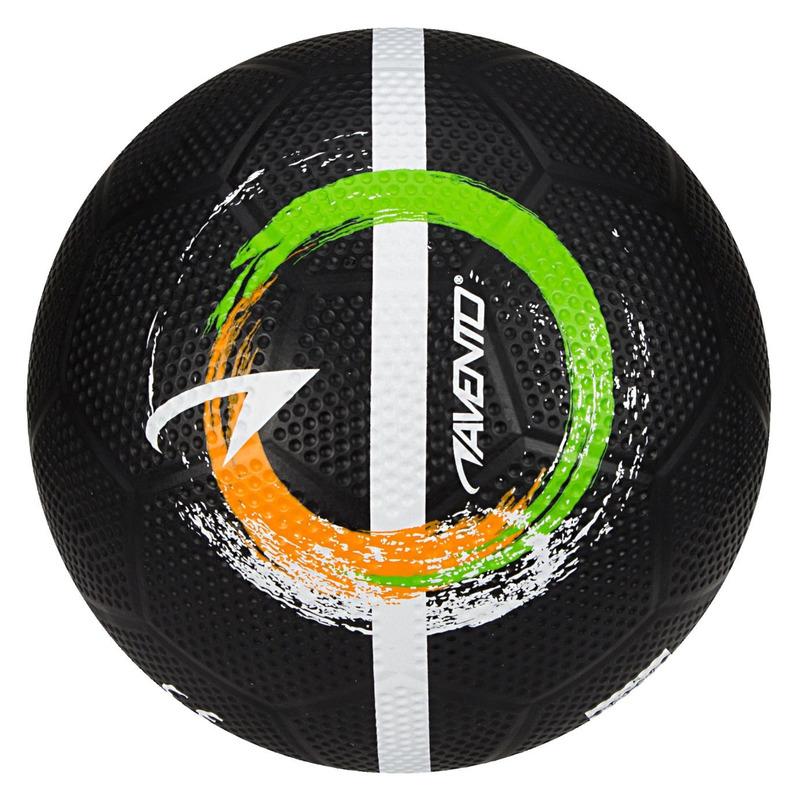 Buitenspeelgoed panna voetbal zwart 21 cm maat 5 voor kinderen volwassenen